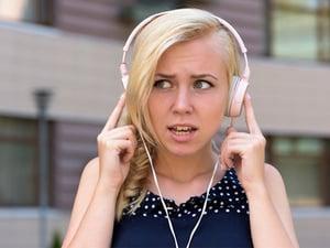 hearing headphones